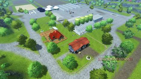 Bahlen Map для Farming Simulator 2013