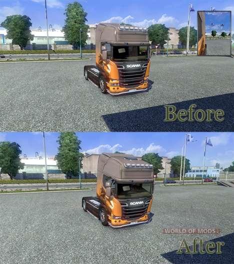 Модифицированная физика [Final version] для Euro Truck Simulator 2