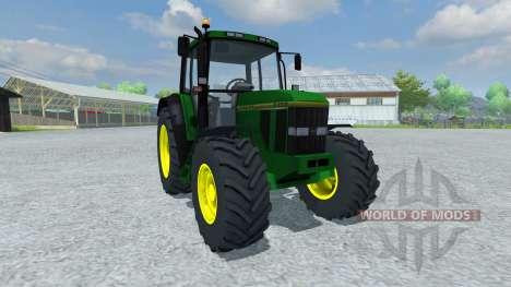 John Deere 6200 1996 для Farming Simulator 2013