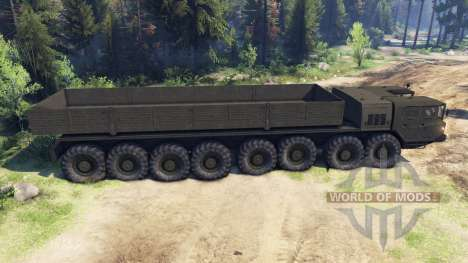 МАЗ-7410 16x16 для Spin Tires