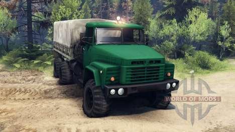 КрАЗ-260 для Spin Tires