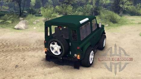 Land Rover Defender 90 для Spin Tires