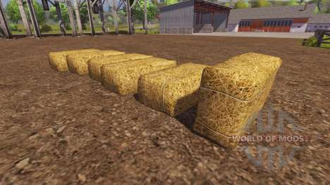 Покупка тюков для Farming Simulator 2013