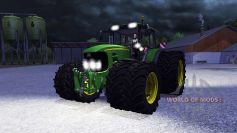 John Deere 7530 Premium v2.0 для Farming Simulator 2013