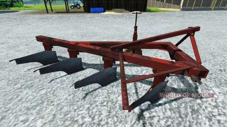 Плуг ПЛН-4-35 для Farming Simulator 2013