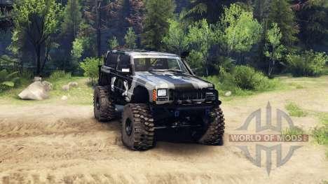 Jeep Cherokee XJ v1.3 Camo для Spin Tires