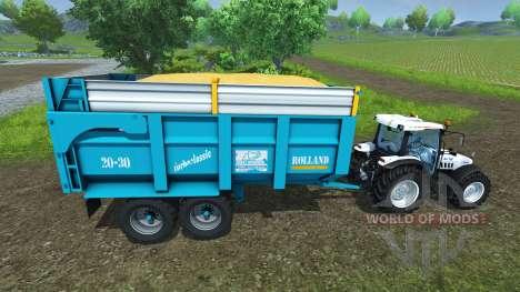 Прицеп Rolland 20-30 для Farming Simulator 2013