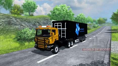 Полуприцеп MOMO для Farming Simulator 2013