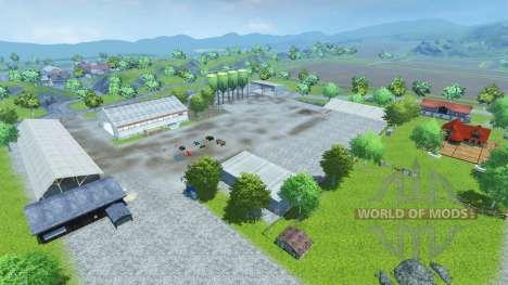 Drebbermap для Farming Simulator 2013