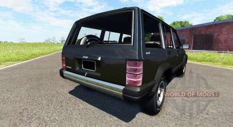 Jeep Cherokee 1984 для BeamNG Drive