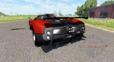 Pagani Zonda Cinque Roadster 2009 для BeamNG Drive