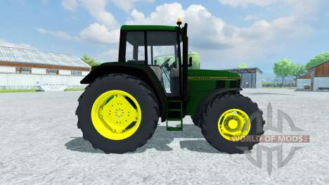 John Deere 6200 1996 для Farming Simulator 2013