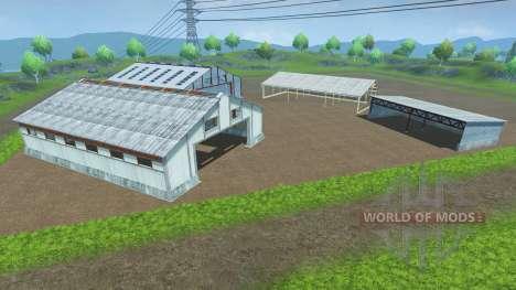Размещаемые павильоны для Farming Simulator 2013