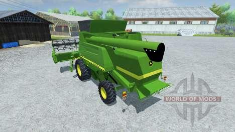 John Deere 660i v2.0 для Farming Simulator 2013