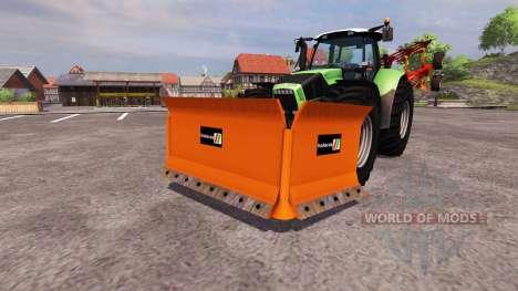 П-образный отвал Holaras для Farming Simulator 2013