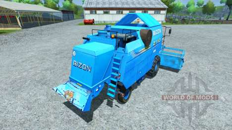 Bizon Z 110 blue для Farming Simulator 2013