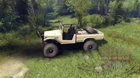 Toyota FJ40 Desert Tan для Spin Tires