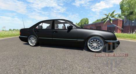 Mercedes-Benz E420 W124 tuning для BeamNG Drive