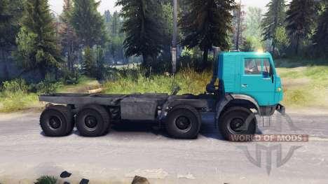 КамАЗ-6350 для Spin Tires