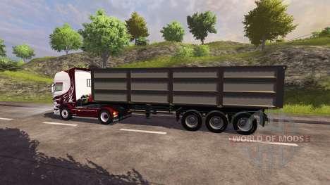 Полуприцеп Kroger Agroliner для Farming Simulator 2013