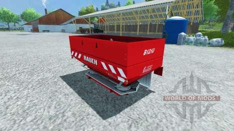 Rauch Axera B1210 v2.0 для Farming Simulator 2013
