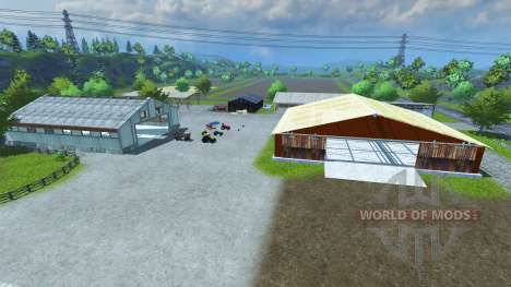 Sample Mod Map для Farming Simulator 2013