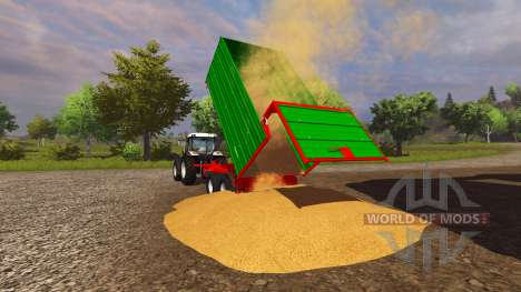 Прицеп Stetzl Tk13 v1.3 для Farming Simulator 2013