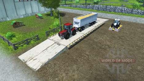 Погрузочные площадки для Farming Simulator 2013