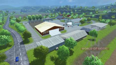 Sample Mod Map для Farming Simulator 2013