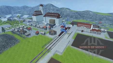 Небольшая ферма для Farming Simulator 2013