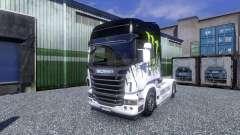 Окрас -Monster Energy- на тягач Scania