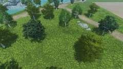 Новые текстуры деревьев и травы