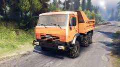 КамАЗ-6520 6х6
