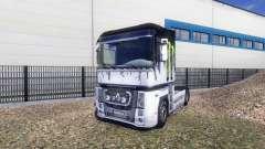 Окрас -Monster Energy- на тягач Renault Magnum