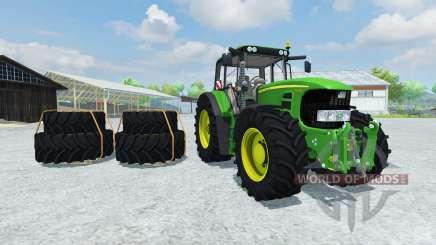 John Deere 7530 Premium v2.0 для Farming Simulator 2013