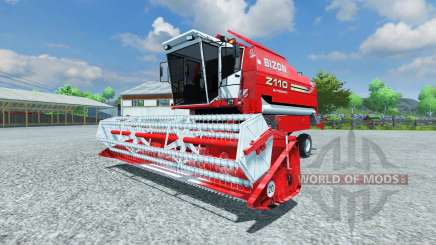 Bizon Z 110 red для Farming Simulator 2013