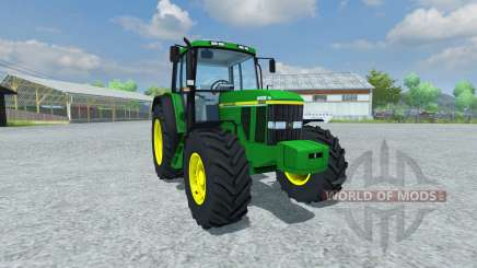 John Deere 6506 v1.5 для Farming Simulator 2013