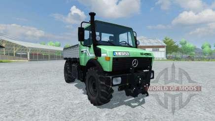 Mercedes-Benz Unimog 1450 для Farming Simulator 2013