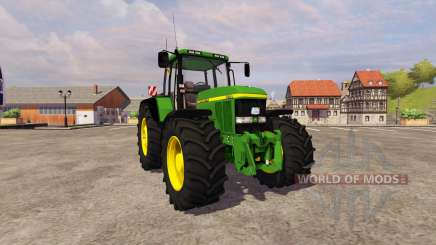 John Deere 7710 v2.1 для Farming Simulator 2013