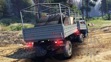 УАЗ-29232 для Spin Tires