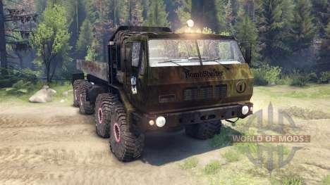 КрАЗ-7Э6316 v1.3 bomb для Spin Tires