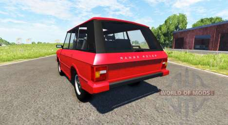 Range Rover Classic для BeamNG Drive