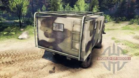 ГАЗ-66 v1.4 для Spin Tires