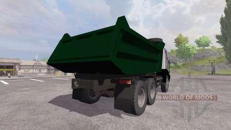КамАЗ-55111 для Farming Simulator 2013