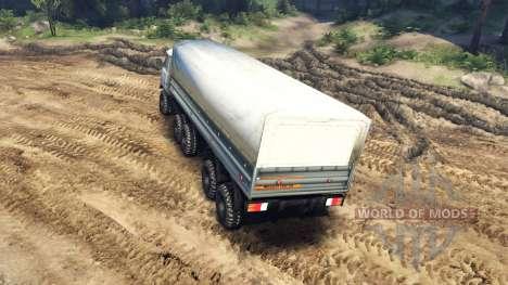 УАЗ-3909 6x6 v2.0 для Spin Tires
