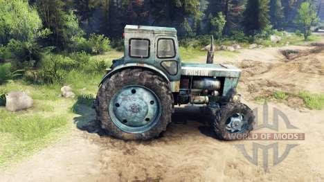 Трактор Т-40АМ v1.1 для Spin Tires