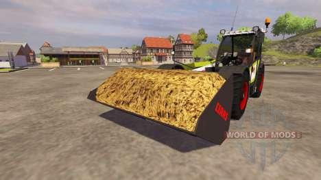 Земляной ковш CLAAS Scorpion Blade для Farming Simulator 2013