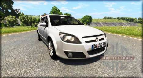 Opel Astra H для BeamNG Drive