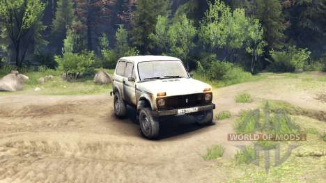 ВАЗ-2121 Нива v2.0 для Spin Tires