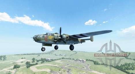 North American B-25 Mitchell для BeamNG Drive